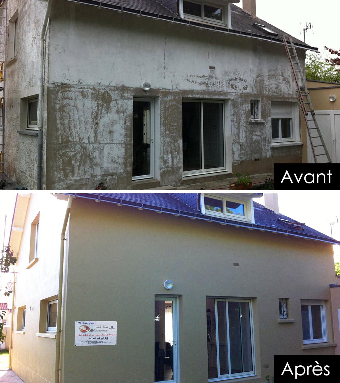 ravalement façade et nettoyage toiture