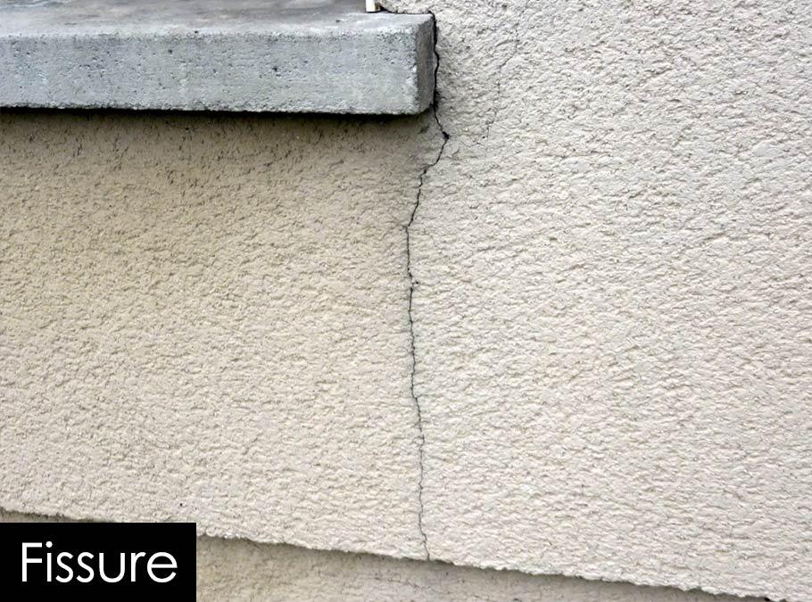Ravalement et peinture de fa ades salon de provence et aix for Traitement des fissures en facade